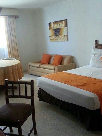 Hotel Cartagena Plaza: Habitación 1231 hermosa