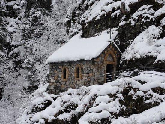 Hotel Le Gai Soleil: Chapelle ND de la Gorge merite le déplacement