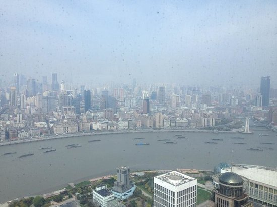 The Ritz-Carlton Shanghai, Pudong: Vista do quarto