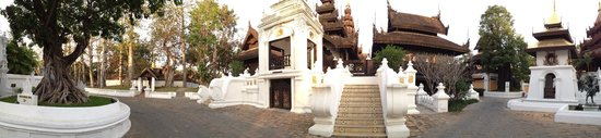 The Dhara Dhevi Chiang Mai: Entrance of the spa area