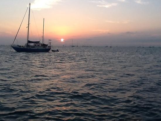 Key West Sailing Adventure: Evening sunset