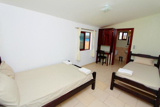 Beach Break Surf Camp and Hotel Playa Venao: 3 person beach front room $110