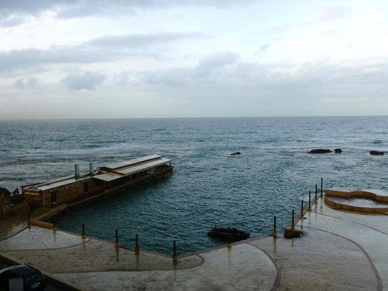 Byblos Sur Mer: vue sur mer