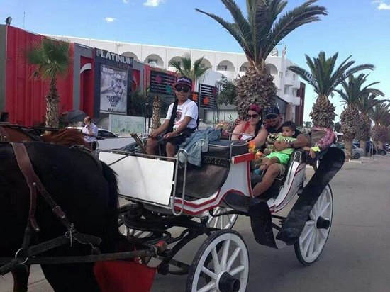 Golf Residence Hotel: Horse n carriage