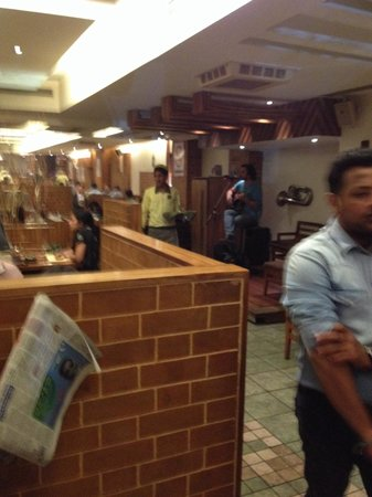 Barbeque Nation: The restaurant inside
