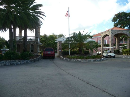 The Buccaneer -- St Croix : Check in gate