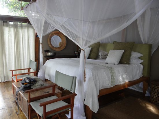 Sindabezi Island : Bedroom