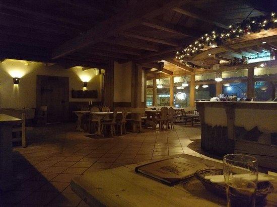 Karczma Sabala: The bar....