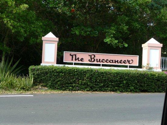 The Buccaneer St Croix: Resort Entrance