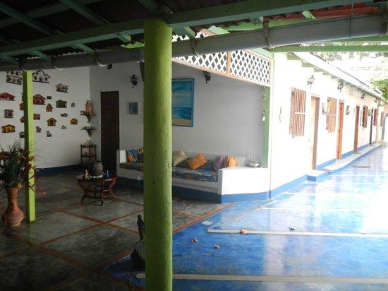 Posada Dona Carmen: Sala de estar