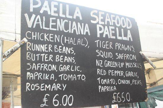 Jamon Jamon Paella: Great prices for a great, packed meal