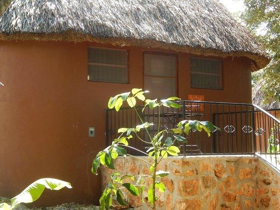 The Pickled Onion B&B & Restaurant: Sleep in a traditional Maya house