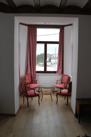 Hotel Relais Fagnard: Gezellig hoekje