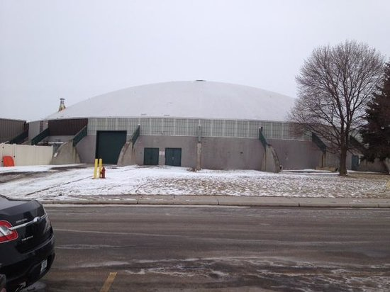 Monroe County Fair and Expo Center: Dome in arena complex