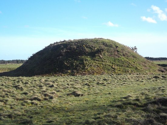 Burial Mound At Sutton Hoo