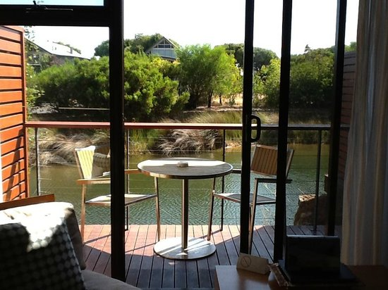 Pullman Bunker Bay Resort Margaret River Region: balcony of lakeside room