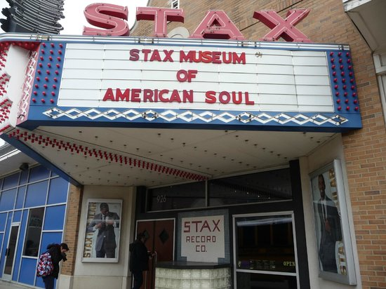 Stax Museum of American Soul Music : Il fronte ingresso