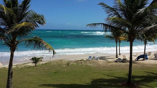 The Westin Dawn Beach Resort & Spa, St. Maarten : View from the balcony of room 2196.