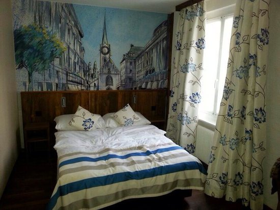 Hotel Adler: our cosy room