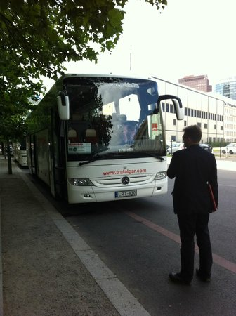 Hilton Berlin: How we got here - The Bus