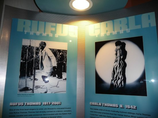 Stax Museum of American Soul Music: Carla e Rufus Thomas