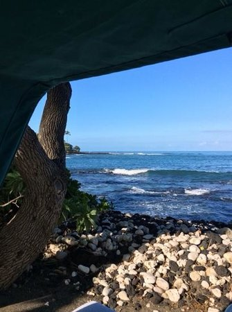 Fairmont Orchid, Hawaii: view from cabana