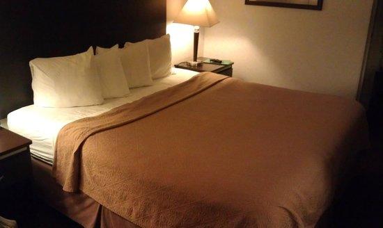 Quality Inn South Bluff : Кровать