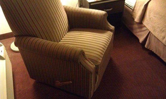 Quality Inn South Bluff : Кресло