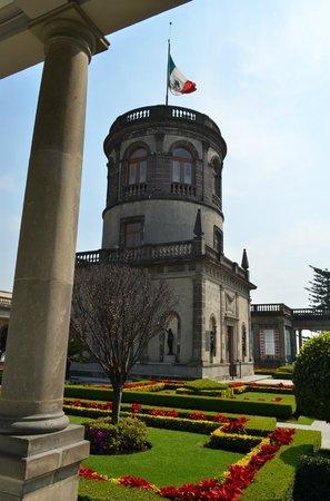 Château de Chapultepec : Rooftop garden