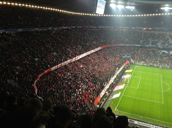 Allianz Arena: inside during game