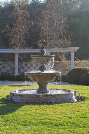 Bella Vista Bed & Breakfast Inc.: Another view of the fountain