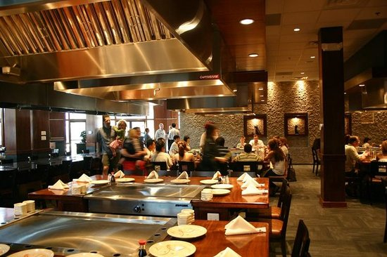 Mikado Japanese Steak House and Sushi Bar: HIBACHI