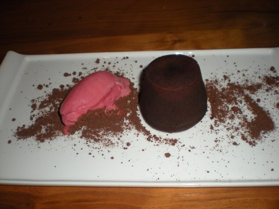 The George Hotel: Chocolate Fondant