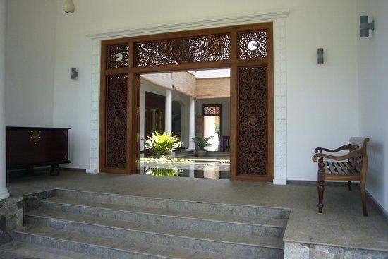 Niyagama House: Eingangsbereich