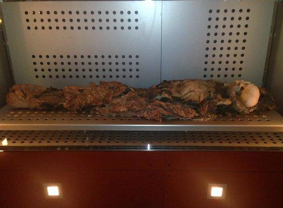 Museo de la Naturaleza y el Hombre: Mumia.