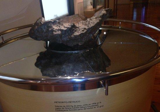 Museo de la Naturaleza y el Hombre : Meteorito.