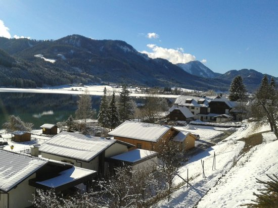 Ferienhof Obergasser & Pension Bergblick: Blick vom Balkon