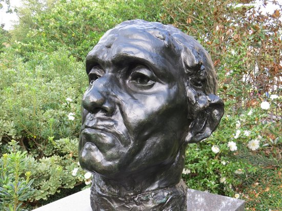 The Sydney and Walda Besthoff Sculpture Garden at NOMA : Bust