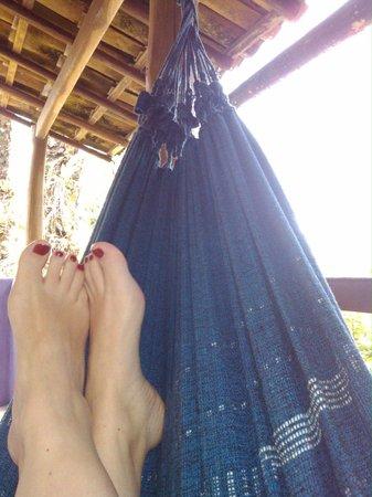 Pousada Raízes do Brasil: Balcon de la habitacion