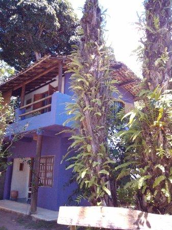 Pousada Raízes do Brasil: Vista de la habitacion