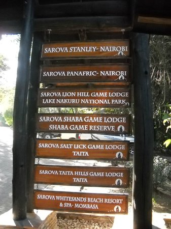 Sarova Mara Game Camp : Enterance