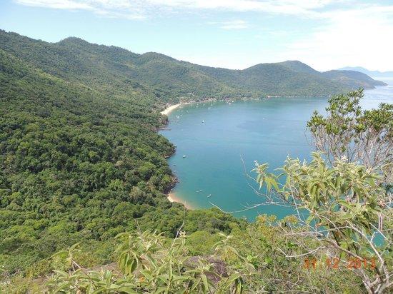 Pousada Refúgio do Capitão: Vista da praia de Araçatiba