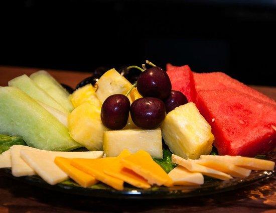 Fruit platter - Picture of Cafe Rose, Edgewood - TripAdvisor