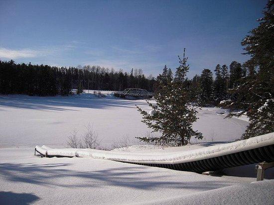 Golden Eagle Camp: Winter wonderland
