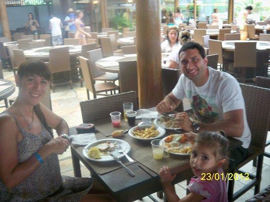 Resort La Torre: almuerzo