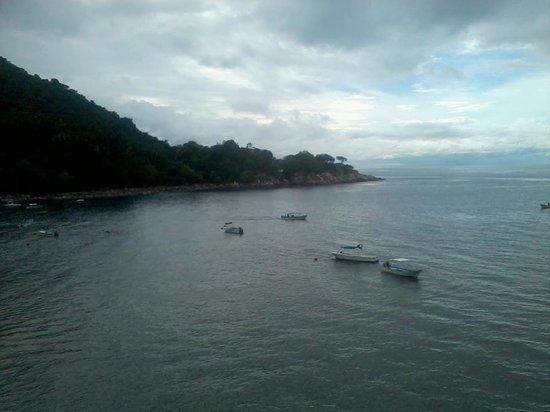 Mismaloya Grill: Our view of Mismaloya Bay