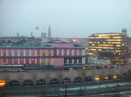 Copenhagen Mercur Hotel : view from my room