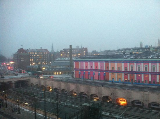 Copenhagen Mercur Hotel: view from my room