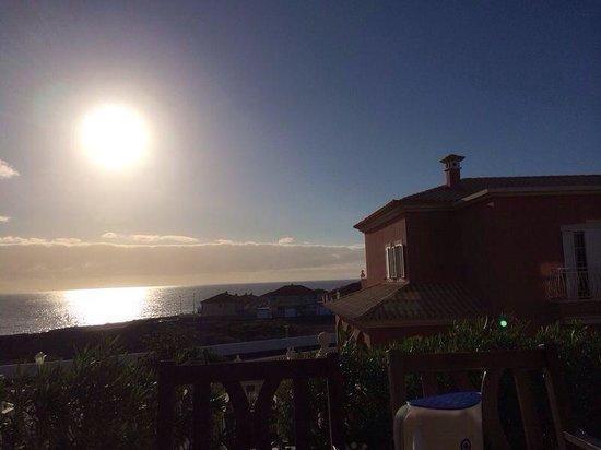 Villa Las Dunas: Vista della colazione