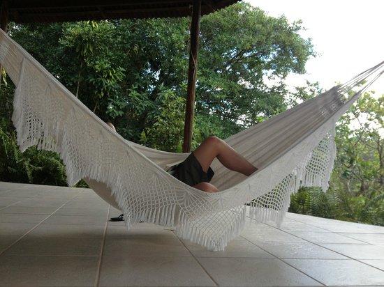Amazon Ecopark Jungle Lodge: Hammock area